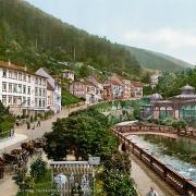 Bad Wildbad um 1900, Olgastraße