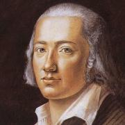Friedrich Hölderlin, Pastell aus dem Jahr 1792 von Franz Karl Hiemer